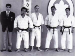 (In ordine da sinistra a destra): M. KANAZAWA, KASE, FASSI, ENOEDA e SHIRAI.
